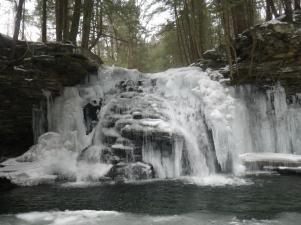 San Run Falls, Pennsylvania